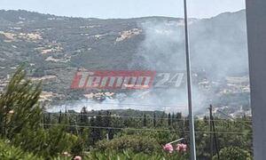 Φωτιά στην Πάτρα: Εκκενώνεται το Σούλι - Κοντά στα σπίτια οι φλόγες