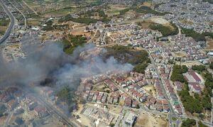 Τουρκία: Μεγάλη φωτιά σε πόλη της Αττάλειας - Εκκενώνονται περιοχές