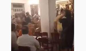 Αντιεμβολιαστές: Κάνουν «ντου» στις εκκλησίες – Νέο θερμό επεισόδιο σε ιερό ναό (vid)