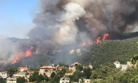 Λίβανος: Καταστροφικές πυρκαγιές στο βόρειο τμήμα της χώρας - Ένας πυροσβέστης νεκρός