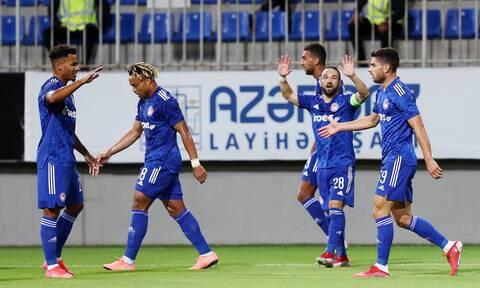 Νέφτσι Μπακού-Ολυμπιακός 0-1: Με... αέρα ανωτερότητας «καθάρισε» τους Αζέρους!