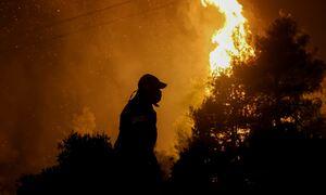 Πάτρα: Νύχτα αγωνίας για τη φωτιά που κατακαίει τη Δροσιά - Επιχειρούν 180 πυροσβέστες