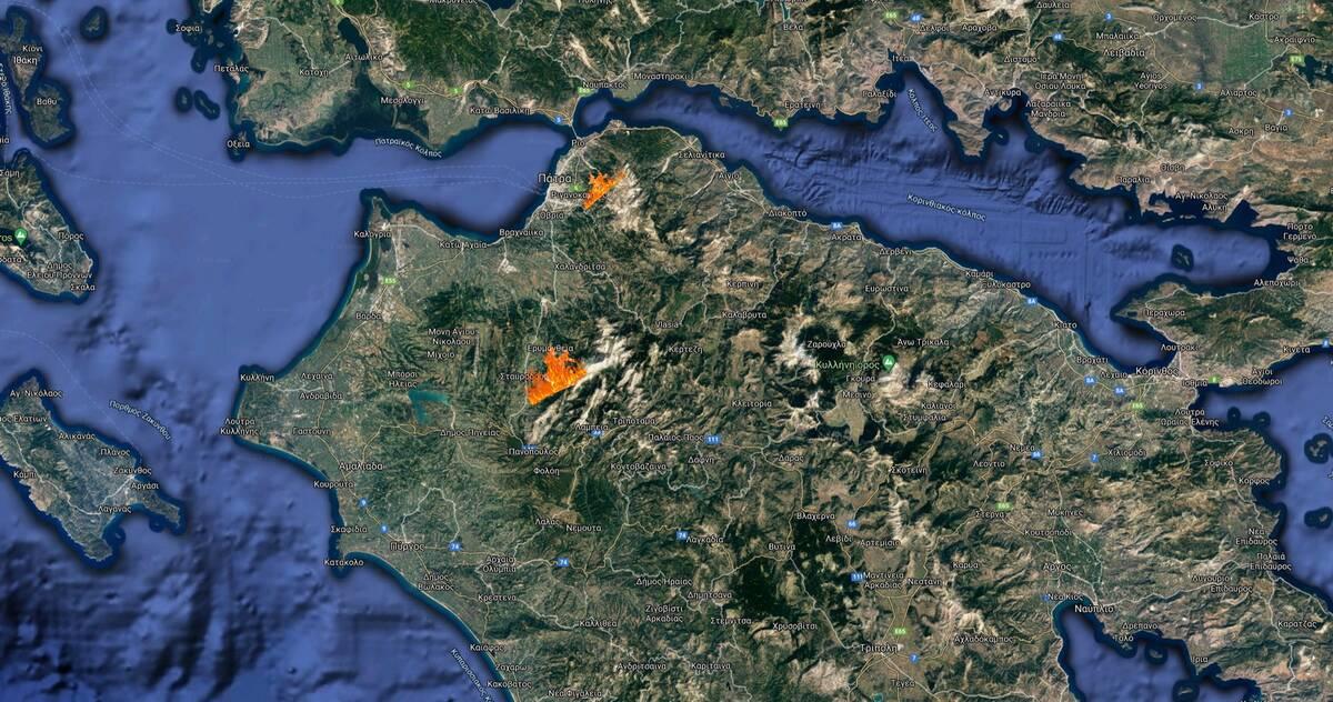 Χάρτης φωτιάς