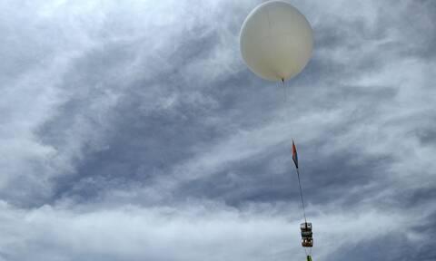 Θεσσαλονίκη: Μετεωρολογικό μπαλόνι προκάλεσε αναστάτωση