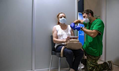 κορονοϊός εμβόλιο τρίτη δόση
