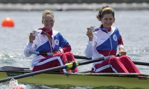 Команда России завоевала серебро Олимпиады в академической гребле в женских двойках