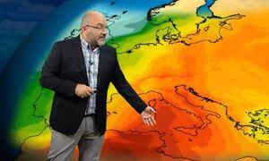 Καιρός: Νέα προειδοποίηση Αρναούτογλου για το «χτύπημα» του καύσωνα