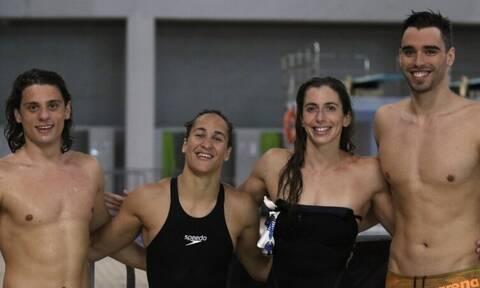 Ολυμπιακοί Αγώνες: Πανελλήνιο ρεκόρ από την 4Χ100 μικτή ομαδική mixed (video)