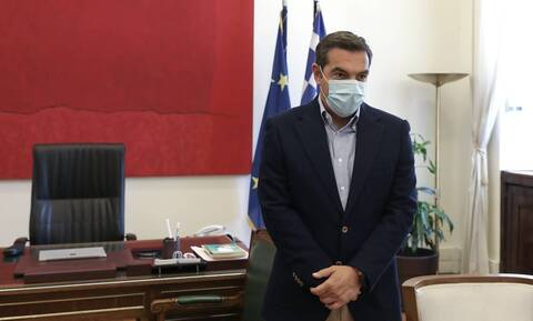 SYRIZA leader Tsipras urges government to take measures ahead on heatwave