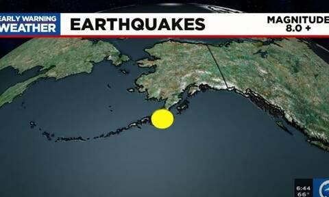 Αλάσκα: Έγινε άρση των προειδοποιήσεων για τσουνάμι μετά τον σεισμό 8,2 Ρίχτερ
