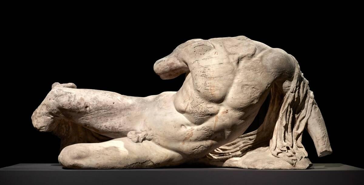Ιλισός άγαλμα Βρετανικό Μουσείο
