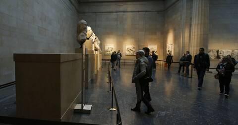 Ελγίνεια Βρετανικό Μουσείο Παρθενώνας