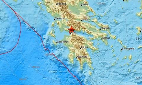 Σεισμός στη Ναύπακτο (pics)