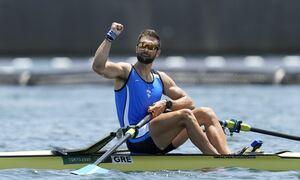 Ολυμπιακοί Αγώνες 2020 - Κωπηλασία: Χρυσό μετάλλιο ο Στέφανος Ντούσκος στο μονό σκιφ ανδρών