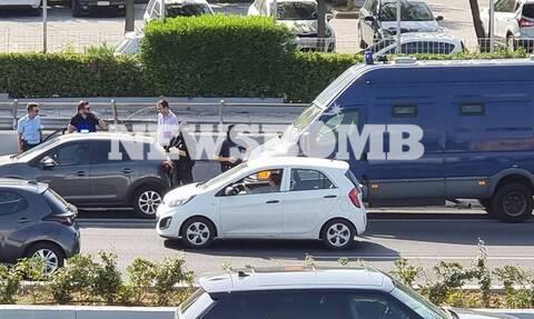 Αποκλειστικό Newsbomb.gr: Πάνοπλοι αστυνομικοί στην Αθηνών - Λαμίας - Δείτε τι έγινε