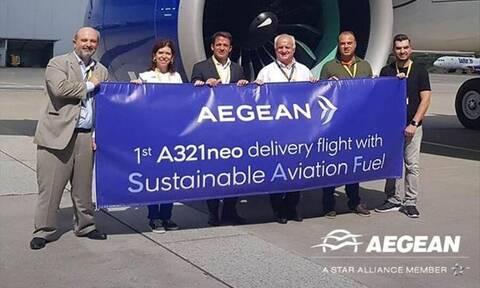 Η AEGEAN παρέλαβε ένα ακόμη αεροσκάφος Α321neo