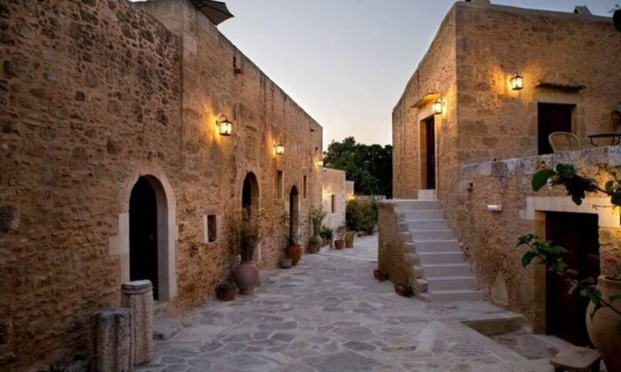 Η μεταμόρφωση ενός εγκαταλελειμμένου χωριού του 16ου αιώνα στην Κρήτη σε ξενοδοχείο