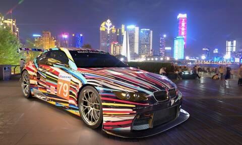Σε πλατφόρμα διευρυμένης πραγματικότητας, τα art cars της BMW