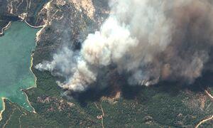 Τoυρκία: Πρωτοφανούς έντασης οι φωτιές σύμφωνα με τον «Κοπέρνικο» - Σκεπάζουν την Κύπρο οι καπνοί