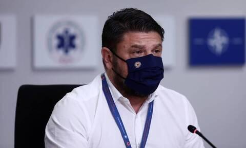 Ο υφυπουργός Πολιτικής Προστασίας Νίκος Χαρδιαλιάς