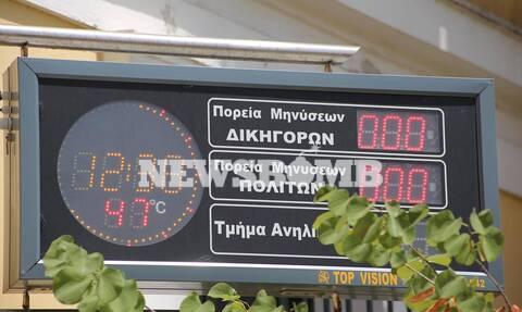 Καύσωνας: «Βράζει» η Αθήνα - Δείτε πού έδειξε 47 βαθμούς το θερμόμετρο