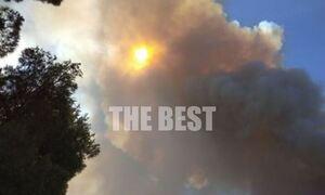 Φωτιά στην Αχαΐα: Κλειστή η γέφυρα Ρίου - Αντιρρίου - Κομμένη στα δύο η Ελλάδα