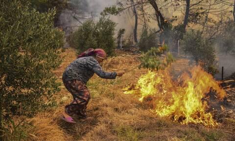 Τουρκία: Στους έξι οι νεκροί από τις δασικές πυρκαγιές - Εκκενώθηκαν σπίτια και ξενοδοχεία