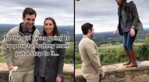 Νόμιζε οτι ο γιος της έκανε πρόταση γάμου στην αγαπημένη του και του φώναζε «όχι, όχι»