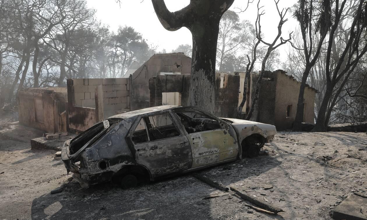 Φωτιά στην Αχαΐα: «Μετράμε τις πληγές μας», λέει ο πρόεδρος της κοινότητας Αιγιαλείας