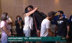 Στην Ελλάδα οι πρωταθλητές Αντετοκούνμπο - «Θα πάω το τρόπαιο στα Σεπόλια» (video)