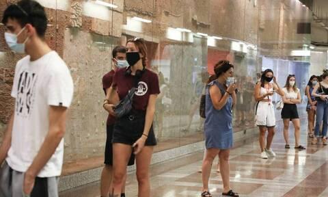 Κρούσματα σήμερα: 453 νέες μολύνσεις στην Αττική, 226 στην Κρήτη και 160 στη Θεσσαλονίκη