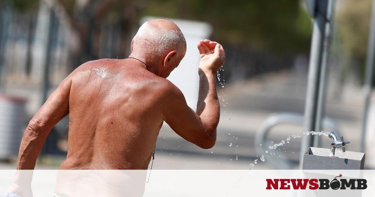 Καύσωνας: Θα «βράσει» η χώρα τη Δευτέρα (2/8) – Μέχρι και 45 βαθμούς θα δείξει το θερμόμετρο – Newsbomb – Ειδησεις