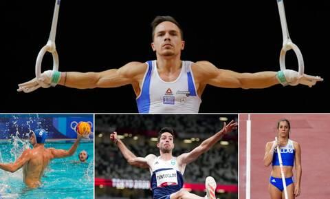 Ολυμπιακοί Αγώνες 2020: Με ελπίδες για μετάλλιο η Δευτέρα - Όλες οι ελληνικές συμμετοχές
