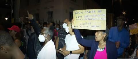Διαδηλώσεις στη Μαρτινίκα