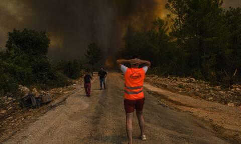 Oι φονικές πυρκαγιές στην Τουρκία