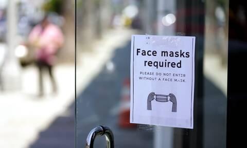Σύσταση για τη χρήση μάσκας στις ΗΠΑ
