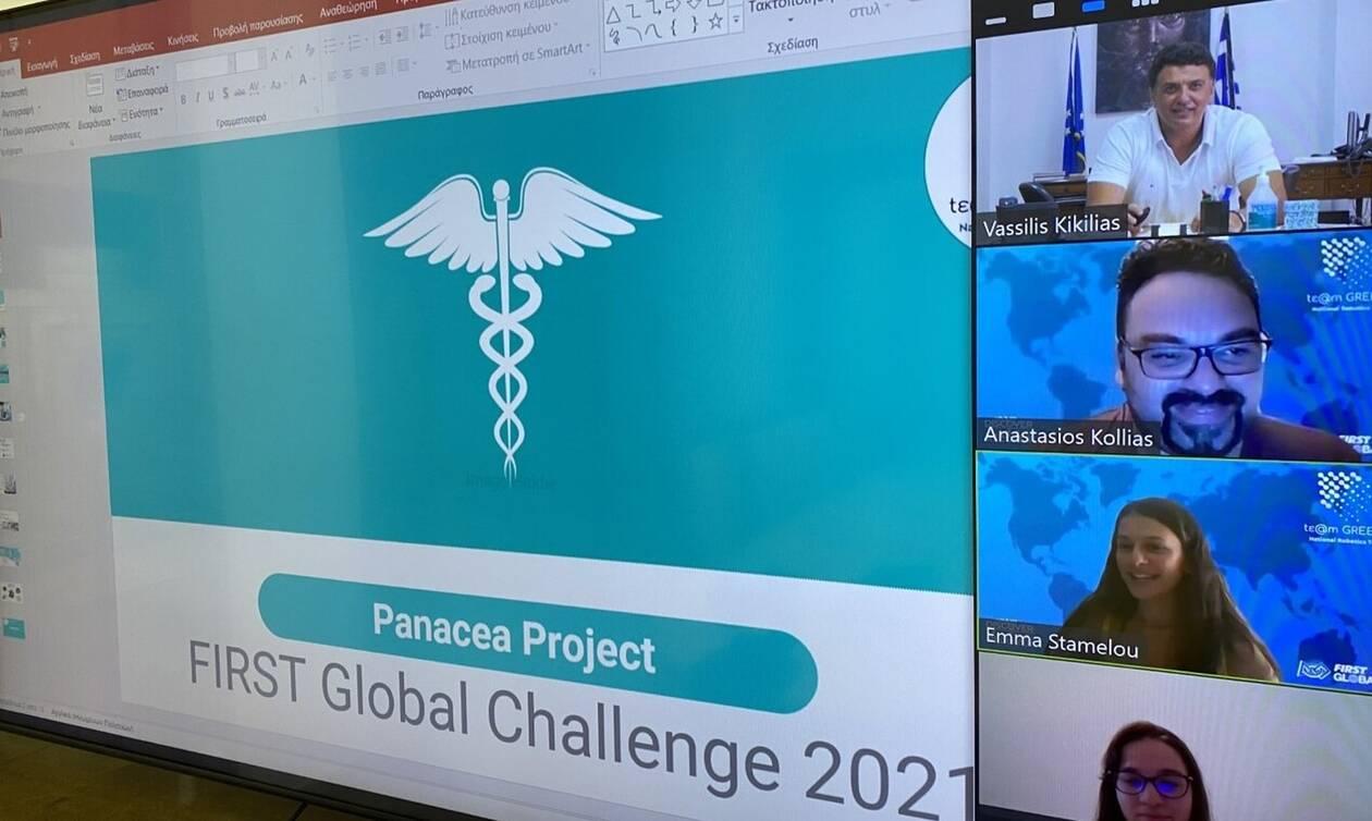 Κικίλιας: Τηλεδιάσκεψη με την Εθνική Ομάδα Ρομποτικής – Ρομπότ για την παρακολούθηση ασθενών