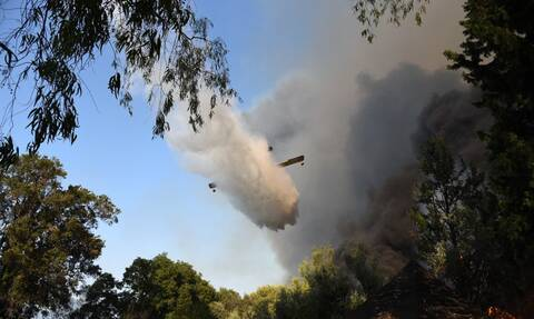 Φωτιά στη Μεσσηνία: Κινδυνεύει μοναστήρι από τις φλόγες - Τι λέει ο δήμαρχος Πύλου στο Newsbomb.gr