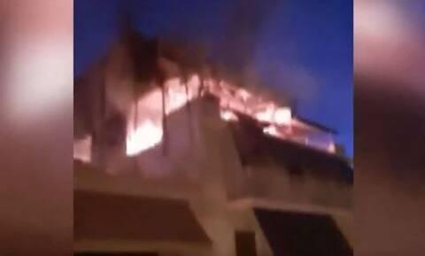 Πατήσια: Η έκρηξη ισοπέδωσε το διαμέρισμα που σκοτώθηκαν γιαγιά και εγγονός - Βίντεο ντοκουμέντο