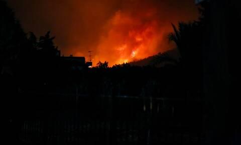 Μεσσηνία: Μαίνεται η φωτιά στo Βασιλίτσι - Επέστρεψαν στα σπίτια τους οι κάτοικοι