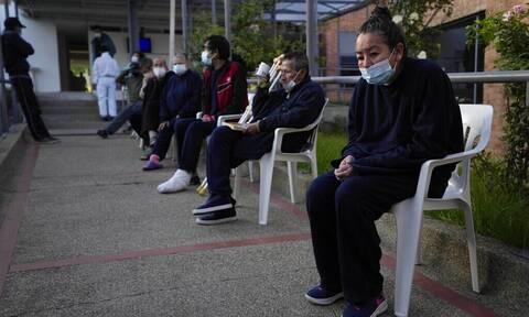 Κορονοϊός: Δήμος στην Κολομβία επιβάλλει καραντίνα στους ανεμβολίαστους