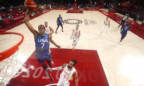 Ολυμπιακοί Αγώνες 2020: Οι ΗΠΑ «πέταξαν» εκτός τους Ισπανούς με σούπερ Ντουράντ (videos)