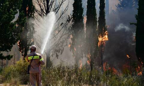 Φωτιά στη Ρόδο: Ενεργοποιήθηκε η υπηρεσία Copernicus/Emergency Management Service–Mapping της ΕΕ