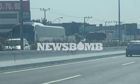 Φωτιά στη Βαρυμπόμπη: Αποκλεισμένοι οδηγοί στην Αθηνών - Λαμίας - Ποιοι δρόμοι είναι κλειστοί