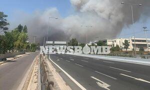 Φωτιά Βαρυμπόμη: Νέο μήνυμα έκτακτης ανάγκης από το 112 - Παραμείνετε σε ετοιμότητα