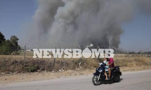 Αντιπεριφερειάρχης Πολιτικής Προστασίας: «Η φωτιά στη Βαρυμπόμπη είναι ανεξέλεγκτη»