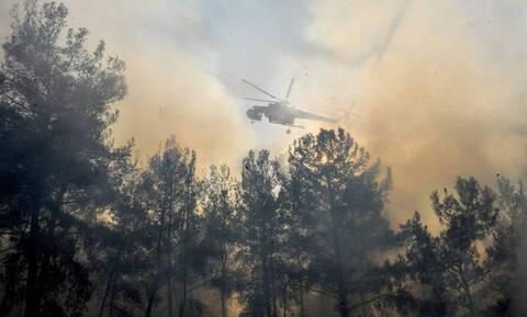 Φωτιά στη Ρόδο: Ανεξέλεγκτη παραμένει η πυρκαγιά στο νησί της Κω