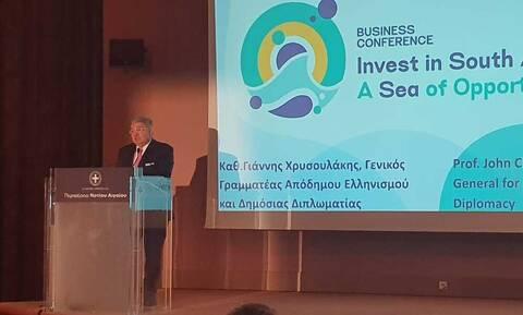 Μήνυμα Γιάννη Χρυσουλάκη στην Ομογένεια για επενδύσεις στην Ελλάδα