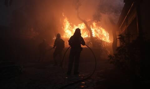 Φωτιά Βαρυμπόμπη: Νέο μήνυμα από το 112 - Κίνδυνος σε Κηφισιά, Αχαρνές, Λυκόβρυση, Μεταμόρφωση