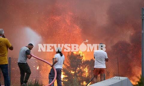 Φωτιά Βαρυμπόμπη: Σε απόγνωση οι κάτοικοι – «Μας άφησαν μόνους», καταγγέλλουν στο Newsbomb.gr